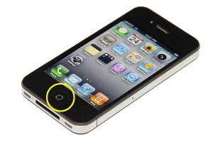 iPhone 4S Home Button Repair Service